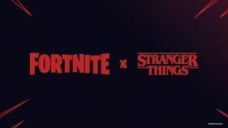 #Fortnite/Novas skins #Stranger Things/