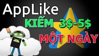 Kiếm tiền online với Applike | Treo điện thoại kiếm 3 - 5$ mỗi ngày với Applike | Nguyen Cuong