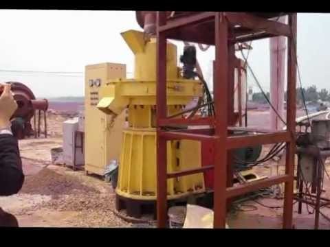 YULONG Wood Pellet Machine with 1T/H Capacity/CE Approved