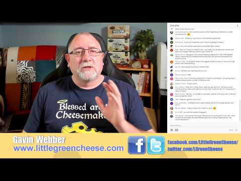 Ask The Cheeseman Live #40! Join the Curd Nerds
