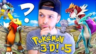 Pokemon 3D (NEW) - WHICH LEGENDARY DID WE GET? 🔥 (Season 2 // Ep 5)