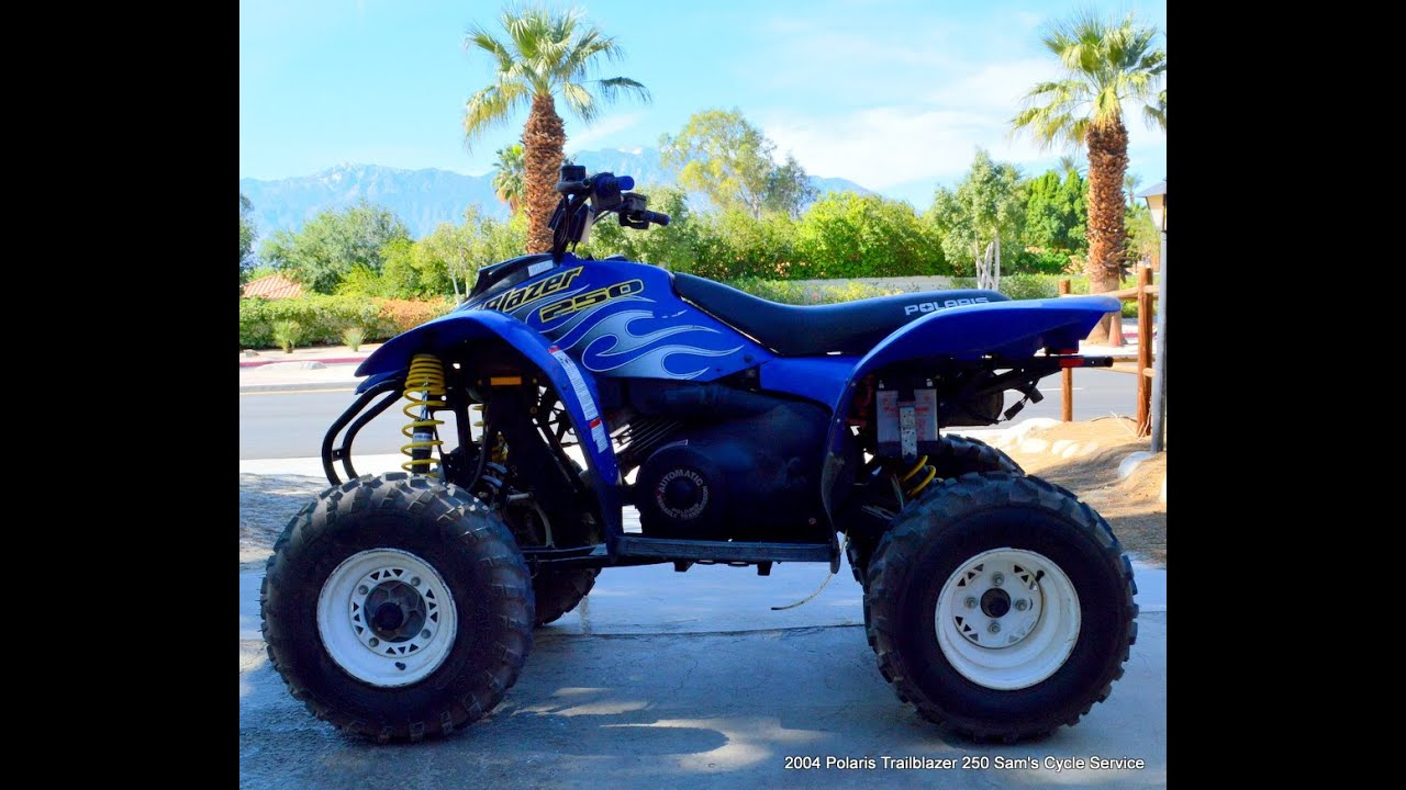 2004 Polaris TrailBlazer Trail Blazer 250 For Sale www samscycle net