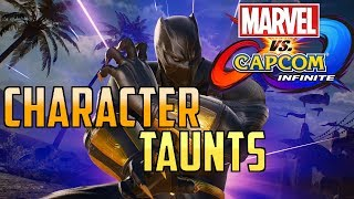 Marvel vs Capcom Infinite: Character Taunts HD