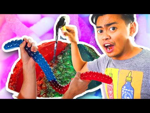 Thumbnail: Do Not Boil A Giant Gummy Worm!
