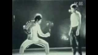Bruce Lee ping pong, A Freak of Nature... by jroc
