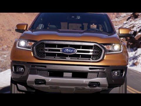 ���รีวิว Ford Ranger 2019 ���ฉมใหม่อเมริกา ���ต่หน้าตารุ่นไมเน