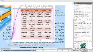 دبلومة الموارد البشرية| اكاديمية الدارين | محاضرة 1
