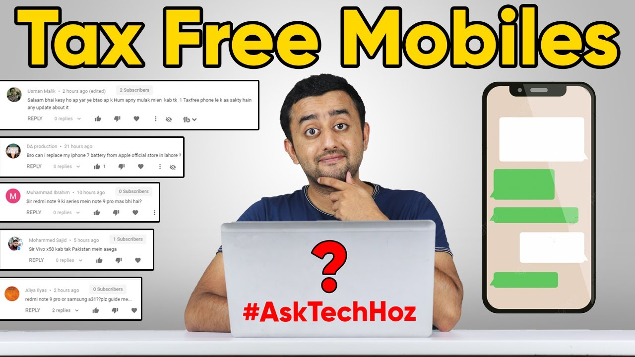 PTA Tax Free Mobile Import in Pakistan - #AskTechhoz Ep.2