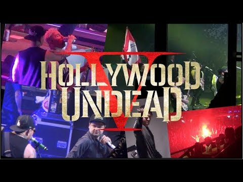 Hollywood Undead - @ Live Saint-Petersburg 04.03.2018