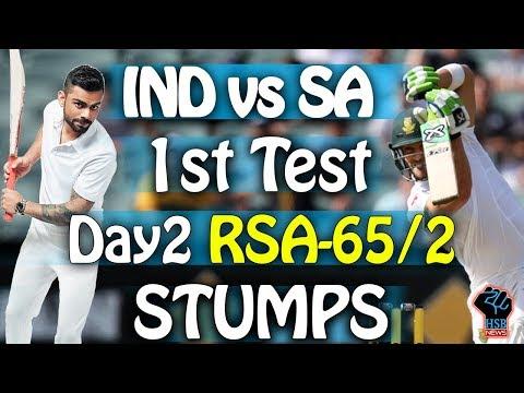 Live Match:IND vs SA 1st test match live,#IND VS SA 1st Test Live Cricket Score IND-28/3 Stumps