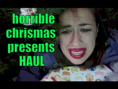 HORRIBLE CHRISTMAS PRESENTS HAUL