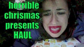 HORRIBLE CHRISTMAS PRESENTS HAUL