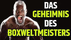 Das WAHRE Gesicht von Box-Weltmeister Deontay Wilder!