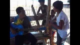 (104)KUNG SAKALING IKAW AY LALAYO ( AT MY CABIN) RICO MONARCA & FRIEND - SALVACION SIRUMA CAM. SUR,.