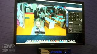 ISE 2015: Vaddio Explains Its Quick-Connect Systems with RoboSHOT 12 Camera