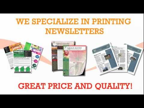 Newsletter Printing in Los Angeles by Gold Image Printing