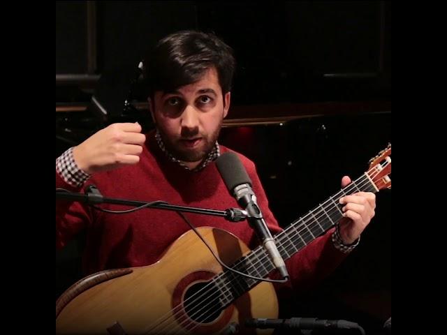 La leçon de guitare de Sébastien Llinares