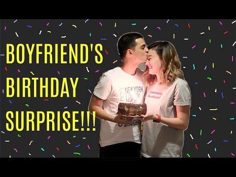 BOYFRIEND'S BIRTHDAY SURPRISE!!! | #Vlog