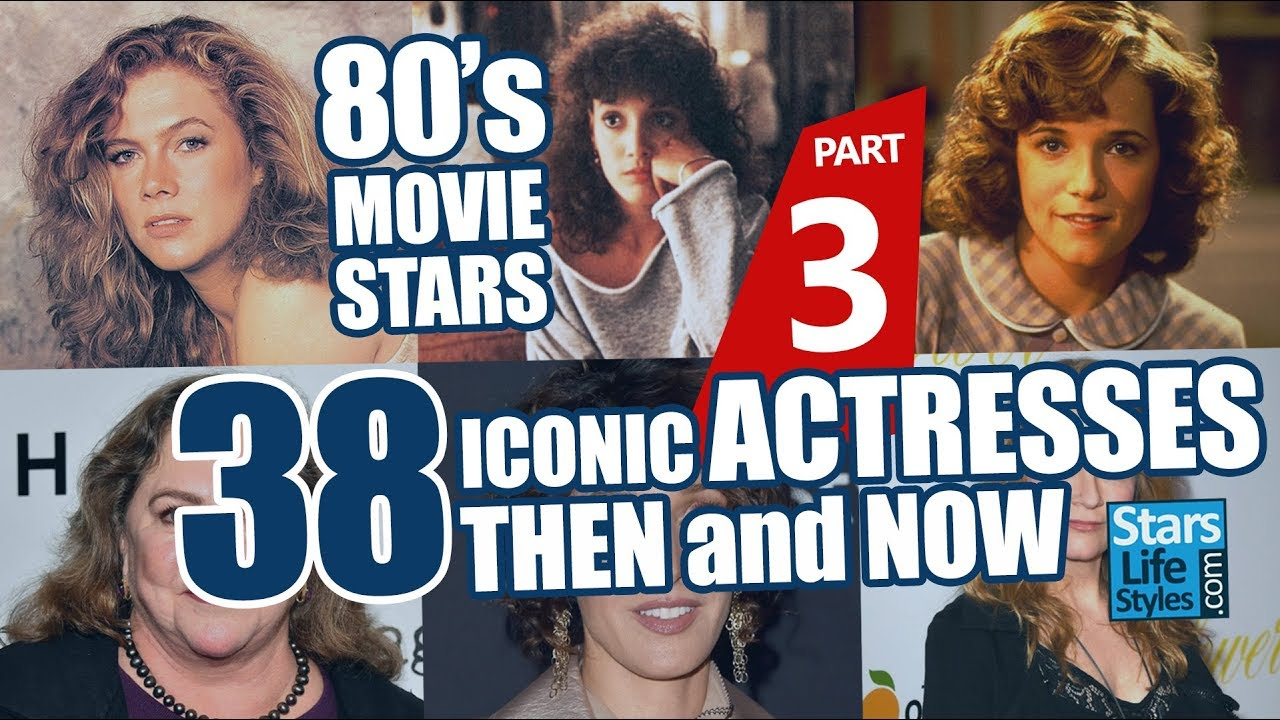80's Movie Stars : 38 Iconic Actresses Nowadays | Hollywood Moviestars Then  And Now