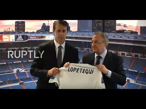 Live: Former Spain coach Lopetegui holds press conference as new Real Madrid boss