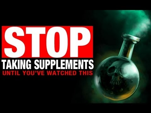 Bodybuilding Supplements Video The SCARY TRUTH!