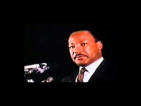 Dr Martin Luther King Jr - Mountaintop Speech Part 1