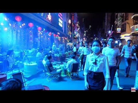 Bui Vien (PARTY STREET) 4K VIETNAM 🇻🇳