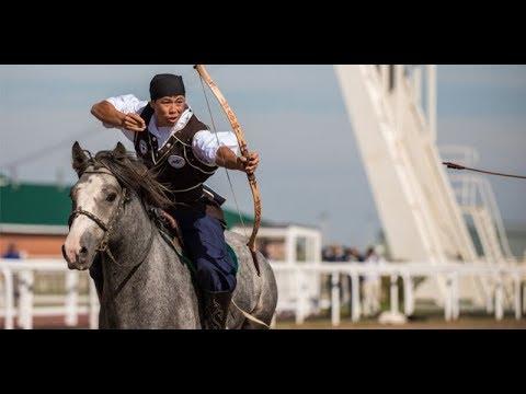 Жамбы ату Экспо 2017 Алтын Жебе / Expo Astana Jamby Atu Horse Archery / Kazakhstan Қазақстан