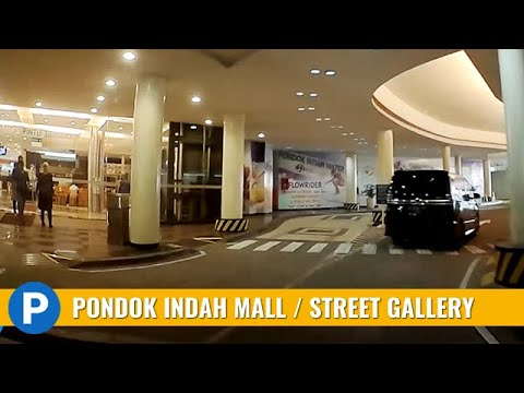 Pondok Indah Mall 1 and Street Gallery Parking Lot ~ Carpark of Indonesia