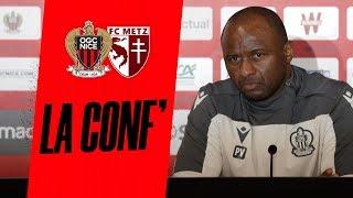 VIDEO: La conférence avant Nice - Metz