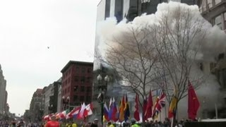 RAW: Watch Boston Marathon explosions
