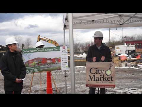 City Market Onion River Co-op South End Groundbreaking Ceremony