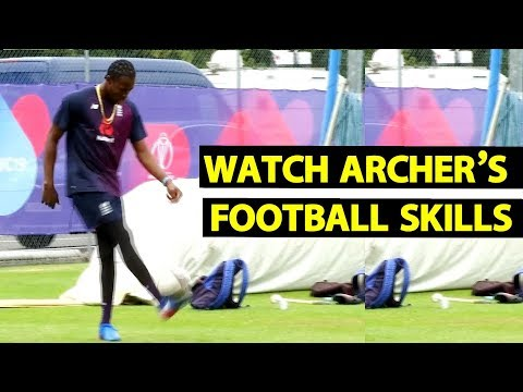 Cricketer Jofra Archer shows off impressive football keepy-up skills | Sports Tak