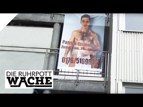 Wie peinlich! XXL-Plakat an einer Gebäudewand! Wer will sich rächen? | Die Ruhrpottwache | SAT.1 TV