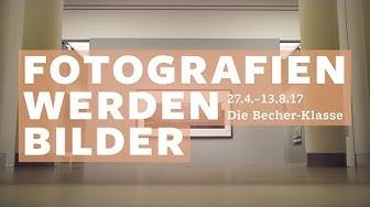 Fotografien werden Bilder. Die Becher-Klasse – Ausstellungsfilm