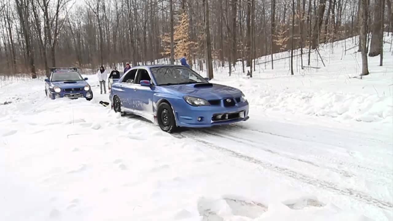 2006 Subaru WRX Hawkeye helps out seriously stuck Bugeye ...