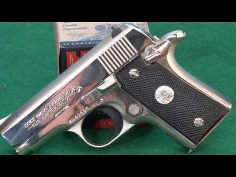 Colt Mustang .380 From The 1980's weaponseducation