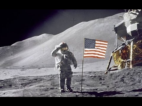 Rare, remastered Apollo 11 panoramas and animations ... |Moon First Step Onto