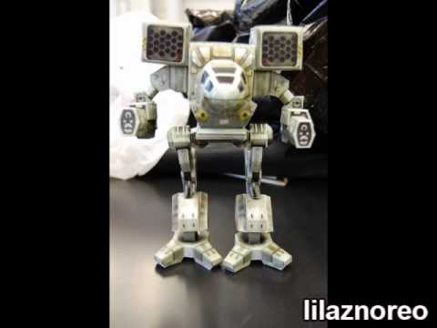 Papercraft MechWarrior - Timber Wolf/Mad Cat Paper Model