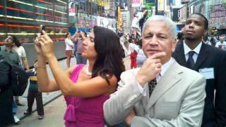USHAA Bravo Top 25 Nasdaq NYC Times Square - Go Yankees 2010-0813 Thumbnail