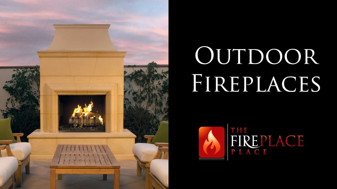 outdoor fireplaces atlanta the fireplace place youtube