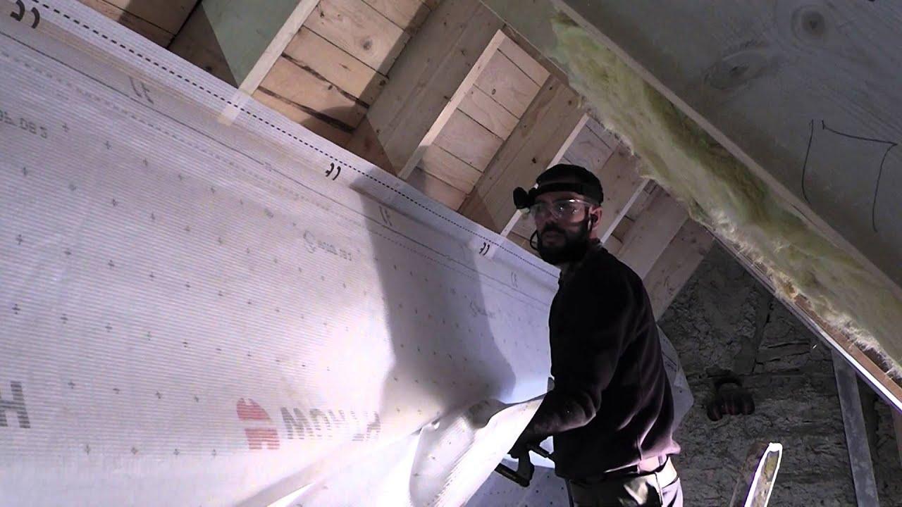Dampfbremse Montieren 5 5 Dach Dammung Youtube