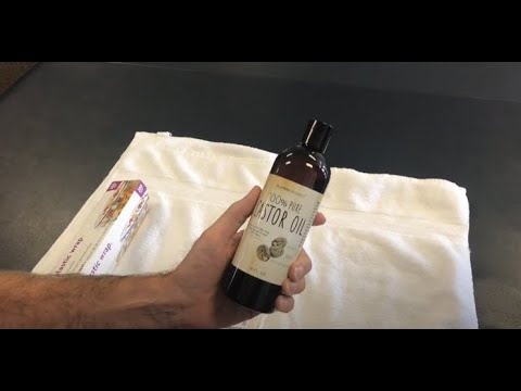 Castor oil relief for arthritic joints