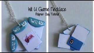 WII U Games Necklace- Polymer Clay Tutorial Thumbnail