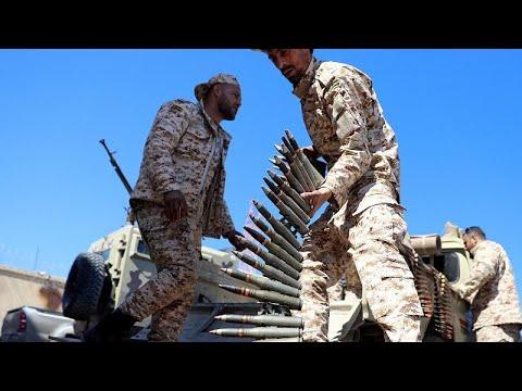 Military Assault On Tripoli Is