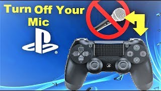 How To Turn Off PS4 Controller Mic