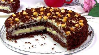 """Торт """"Фантазия""""/Быстрый Простой торт к Чаю"""