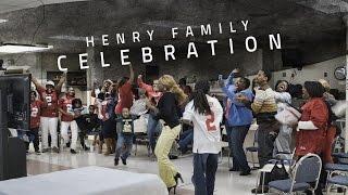 Watch Derrick Henry's family celebrate as he wins the Heisman
