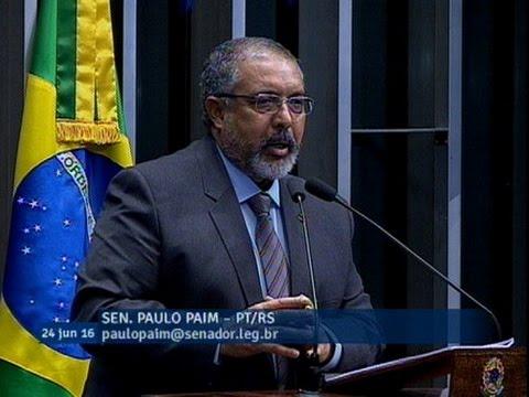 """Para Paulo Paim, o Estatuto da Pessoa com Deficiência é uma """"política que deu certo"""""""