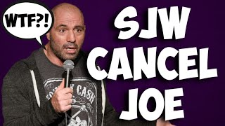 Joe Rogan is cancelled! Twitter Puritans outraged over his Bernie Sanders endorsement!